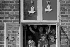 LA 017_DDR_Schulpause_Darß_1983